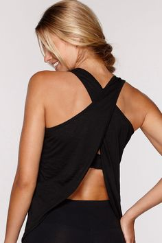 Crossover Tank | New In | Categories | Lorna Jane Site