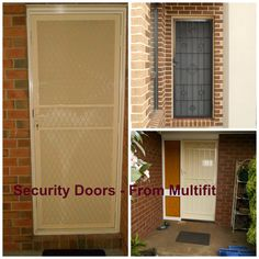 Crime safe, strong build are only available at Multifit in Melbourne, call us now or visit online. Security Doors, Melbourne, Crime, Garage Doors, Strong, Australia, Windows, Building, Amazing