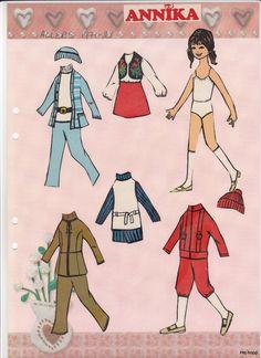 Allers 1970 - 1979 | Maggans nostalgiska klippdockor