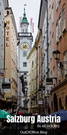 Best of Salzburg Austria in 48 Hours Out of Office Travel Visit Austria, Austria Travel, Europe Travel Guide, Travel Guides, Travel Info, Travel Deals, Travel Destinations, European Destination, European Travel