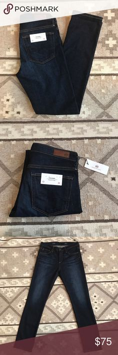 AG The Emery Essential Straight Jeans Brand new AG Denim. AG Adriano Goldschmied Jeans Straight Leg