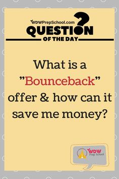 Everything you need to know about Disney Bounceback offers Disney Money, Disney On A Budget, Disney World Planning, Disney World Tips And Tricks, Disney Tips, Walt Disney, Disney World Resorts, Disney Vacations, Disney Travel