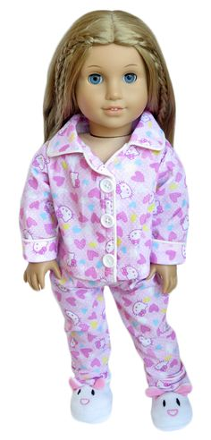Silly Monkey - Pink Lightweight Hello Kitty Pajamas, $14.99 (http://www.silly-monkey.com/products/pink-lightweight-hello-kitty-pajamas.html)