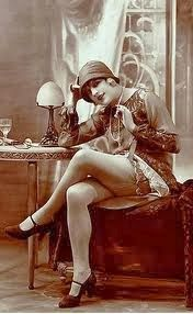 Yesterday, February 16, was celebrated for the invention of Nylons...ooh la la! What better subject to follow than LEGS!   Nylons, hosiery...