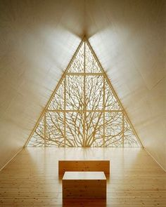 Lilja Chapel of Silence in Finland #chapel #finland #wood #beautiful #stunning #woodwork #design de midcenturyfurniture