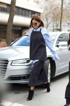 Christine Centenera seen during Paris Fashion Week Fall 2016 RTW, March 2016. Photo: Diego Zuko.