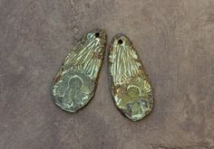 Keyhole Rustic Charms  Hand-Cast Handmade Metalwork by Inviciti #etsy #fashionjewelry #handmade #handcrafted #ooak #etsyfinds #artisan