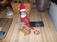 Never double cross an elf...never!