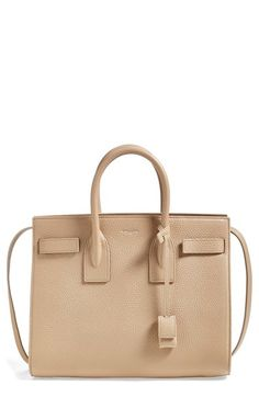 Saint+Laurent+'Small+Sac+de+Jour'+Grained+Leather+Tote+available+at+#Nordstrom