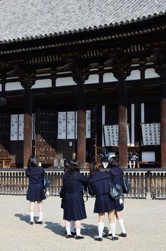 Japanese school girls