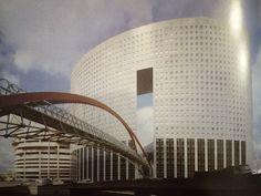 Kisho Kurokawa, konstruktor Ove Arup, Wieża Pacyfiku, Paryż-Defense, 1993