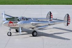 Photo of Lockheed Lightning - FlightAware Reno Air Races, Lockheed P 38 Lightning, Propeller Plane, Vintage Air, Commercial Aircraft, Nose Art, Military Aircraft, Fighter Jets, High Flight