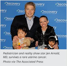 """Jen Arnold, MD, a pediatrician and neonatologist, knows that sharing her personal story can educate and inspire people. That's one of the reasons she agreed to have cameras follow her (and husband Bill Klein) around for the TLC show """"The Little Couple."""""""