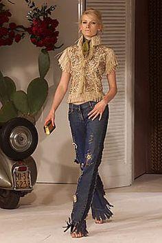 Dolce & Gabbana Spring 2001 Ready-to-Wear Fashion Show - Nina Heimlich