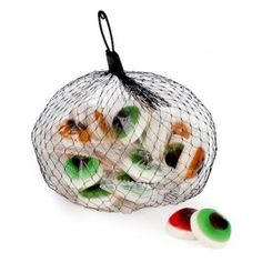 Fruit flavoured eye ball shaped soft gummies