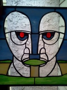 Pink Floyd the Division Bell stained glass by CoventryStainedGlass, $175.00
