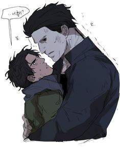 Michael Myers, Michael X, Scary Movie Characters, Scary Movies, Horror Movies, Noche Halloween, Chucky Horror Movie, Jake Park, Creepy Games