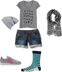 """Skater Girl"" by lucykking on Polyvore"