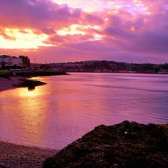 Purple Wash Sunset by James Bullis-King