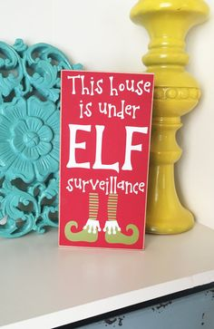 Finally, something I love about the elf. This Christmas sign is perfect to display on the shelf with your elf helper. I am just loving those cute Elf shoes! Christmas Gifts For Coworkers, Great Christmas Gifts, Christmas Countdown, Christmas Time, Christmas Stuff, Christmas Wood, Christmas Signs, Christmas Crafts, Christmas Ideas