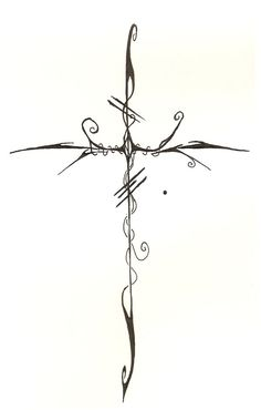 Cross 2  by ~SteveM182  Designs & Interfaces / Tattoo Design	©2008-2013 ~SteveM182