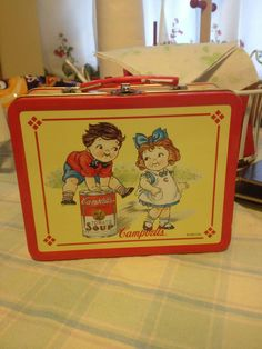 Lunch Box - Campbell's Soup Kids!