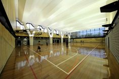 Multi-Purpose Sports Hall and Teaching Facility / PTW Architects,Courtesy of PTW Architects