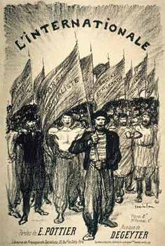 REGBIT1: Eugène Pottier Bem unidos façamos Caricatures, Anarchism, French Revolution, We The People, Les Oeuvres, Poster Prints, Posters, Moose Art, Images