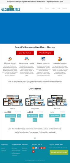 GeckoThemes Review WordPress Themes