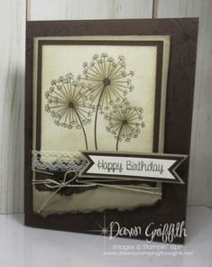 Dandelion Wishes Video - Dawn's Stamping Thoughts