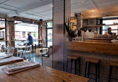 Restaurant & Hospitality Design: Pillar of Salt Cafe Bar Counter, Coffee Shop Counter, Bakery Design, Cafe Design, Cafe Restaurant, Restaurant Design, Café Bistro, Cosy Cafe, Architectural Columns