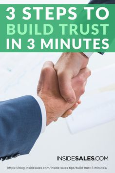 In this article, discover the three steps how you can build trust and rapport with the prospects you want to effectively connect with. What Is Marketing, Marketing Plan, Media Marketing, Home Based Business, Online Business, Successful Business, Business Tips, Sales Prospecting, Sales Skills