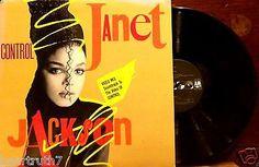 "PROMO JANET Jackson Control 12"" EP RARE VIDEO Mix 1986 AM 3P-12218 SOUL NM"