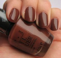 Opi nail polish in brown ...my mom would like this.