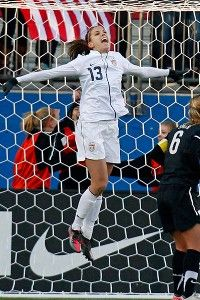 The Great Alex Morgan scores 2 goels to win the game against New Zealand