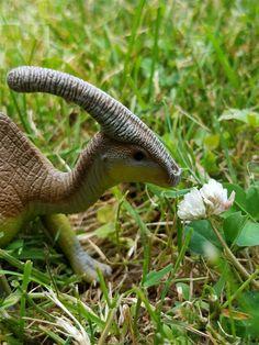 Schleich Yellow Parasaurolophus 1