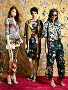 """""""You cannot talk about the season without talking about the floral printed dress.""""    Spring Fashion: Hand Yourself Bouquets - NYTimes.com"""