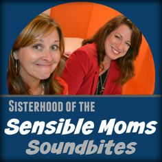 You know how I love a good deal, so today you get two for the price of one in terms of bloggers spilling their issues! Check out @SensibleMoms