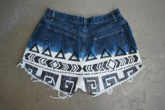 Cool bleached shorts