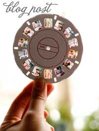 Puts your #photos in a View Master format. Great gift idea and perfect for weddings