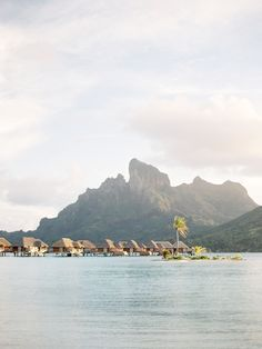 Four Seasons Bora Bora / Jose Villa