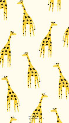Homescreen Wallpaper, Iphone Background Wallpaper, Aesthetic Iphone Wallpaper, Giraffe Illustration, Pattern Illustration, Joker Wallpapers, Cute Cartoon Wallpapers, Whatsapp Wallpaper, Cute Disney Wallpaper