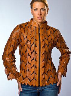 Мобильный LiveInternet Интересная куртка из кусков кожи в разной цветовой гамме   ЛеМурка0808 - ЛеМурка0808  