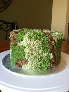 Camo cake
