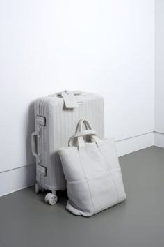Ryan Gander MY HEAD ON YOUR BELLY 2013 Marble resin 39 x 36 x 56 cm — A marble sculpture of two pieces of luggage that carry the essential belongings of the artist and accompany him whenever he travels. His Travel, Travel Bag, Ryan Gander, Mood Images, Rimowa, Online Collections, Summer Trends, Two Pieces, Online Art