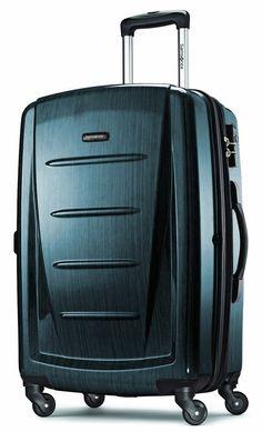 733fa6f89 Samsonite Winfield 2 Hardside 24″ Luggage   Teal Travel Luggage, Best  Luggage, Luggage