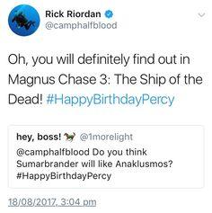 Happy birthday Percy!