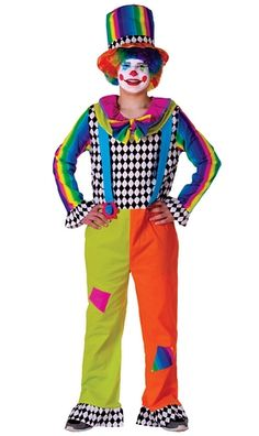 #Adult #jolly #Clown #Costume | #OyaCostumes #Halloween
