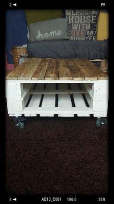 Palette Table basse  Style industriel rustique par UrbanRomantic1