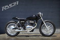 Suzuki Savage Custom Cafe Racer Street Tracler from Ryca Motors Suzuki Cafe Racer, Cafe Racers, Cafe Racer Kits, Custom Cafe Racer, Suzuki Motorcycle, Cafe Racer Motorcycle, Cafe Bike, Motorcycle Gear, Concept Motorcycles